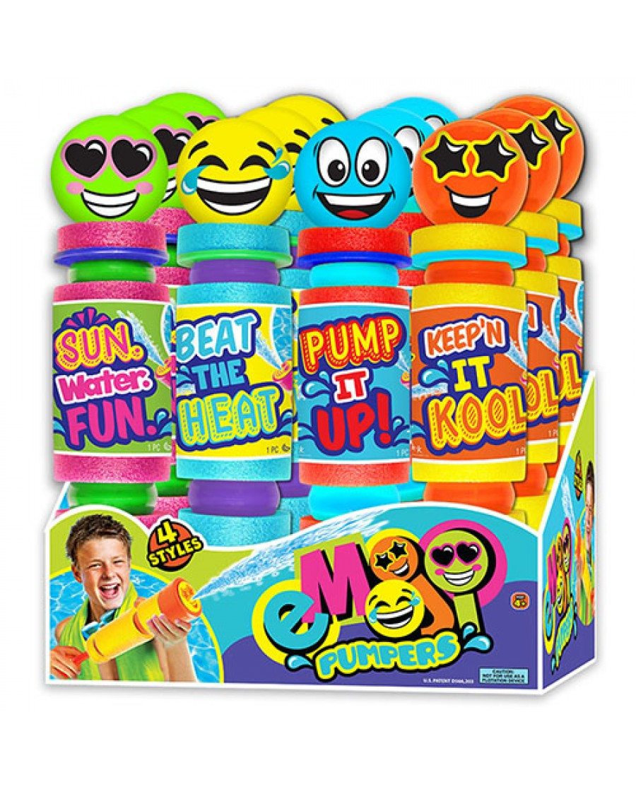 "12"" Emoji Foam Pump Water Squirter"