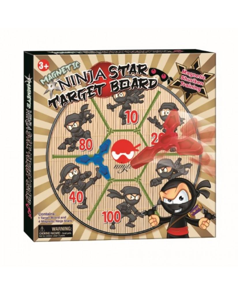 Magnetic Ninja Dartboard
