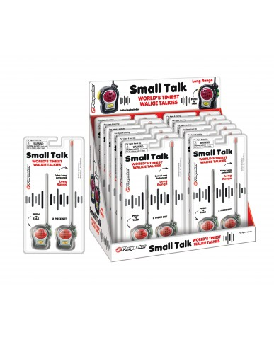 World's Tiniest Walkie Talkies