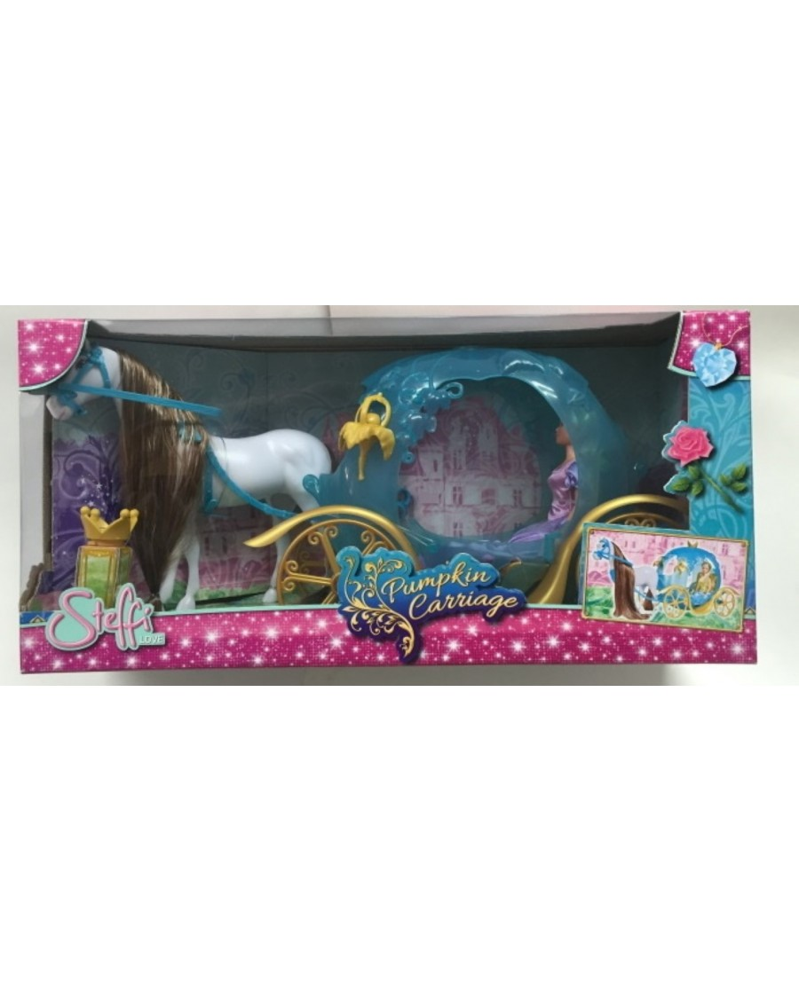 "26"" Steffi Fairy Tale Pumpkin Carriage"