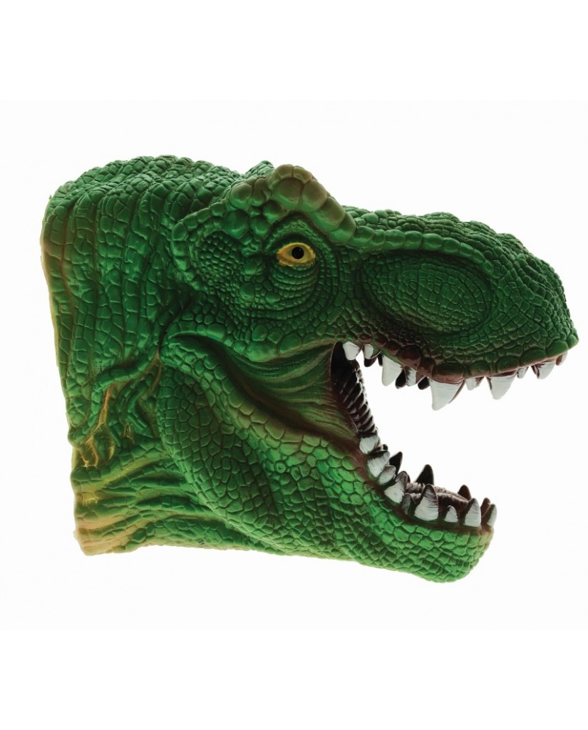 "8"" Deluxe Dino Hand Puppet"