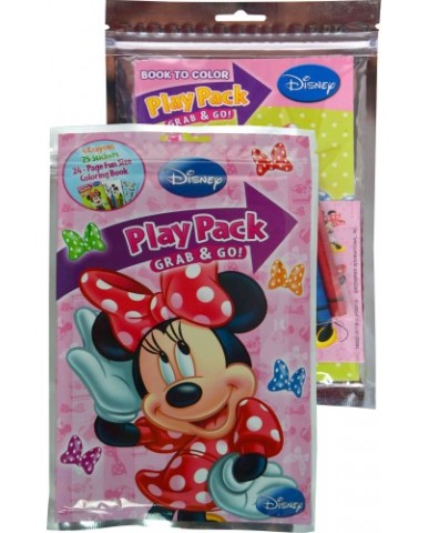 Minnie Mouse Grab 'N Go Play Packs