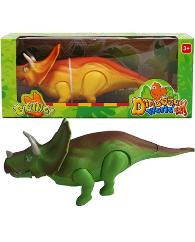 "13"" Battery Operated Triceratops"
