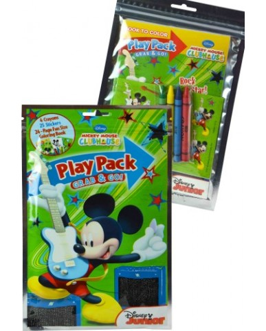 Mickey Mouse Grab 'N Go Play Packs