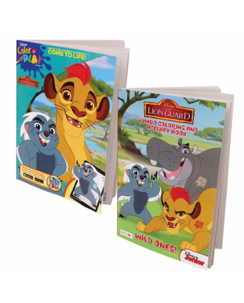 Lion guard coloring book - 96 Pg The Lion Guard Coloring Book