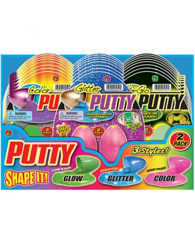 2 PK Egg Putty