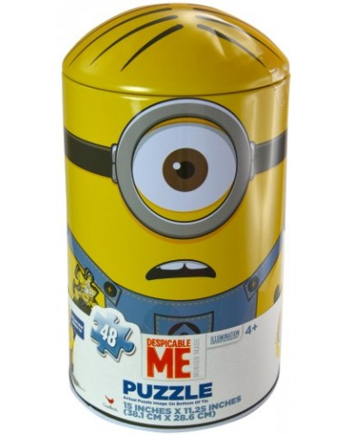 Minions Bullet Shaped Tin Puzzle
