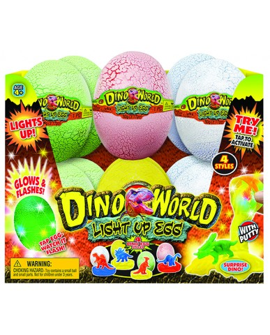"4"" Dino Goo Light Up Egg"