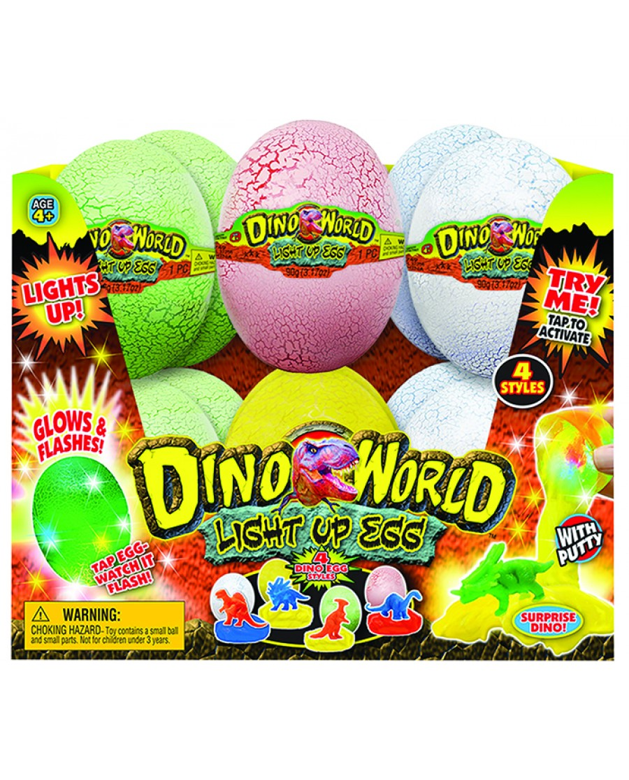 """4"""" Dino Goo Light Up Egg"""