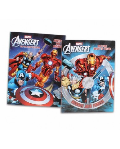 96-pg Avengers Coloring Book