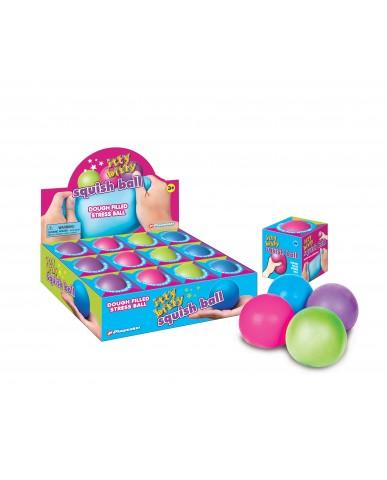 """2.5"""" Itty Bitty Neon Squish Ball"""