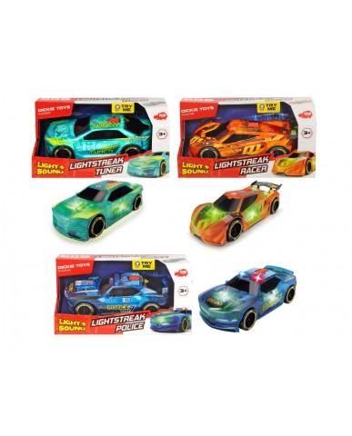 """9.5"""" Light & Sound Lightstreak Racers"""