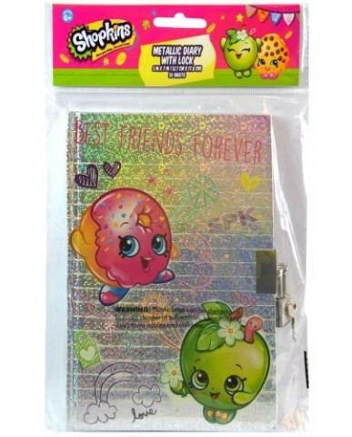 Shopkins Diary with Lock