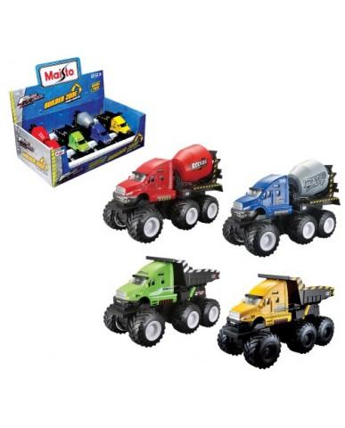 """8"""" Die Cast Builder Zone Mixer & Dump Truck"""