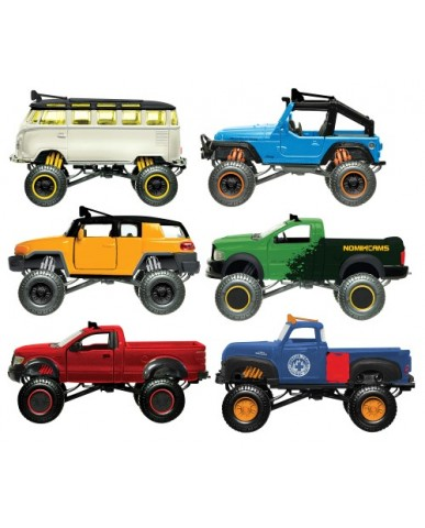 "4.5"" Die Cast Off Road 4x4 Rebels"