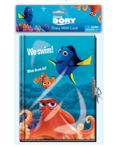 Finding Dory Diary with Lock