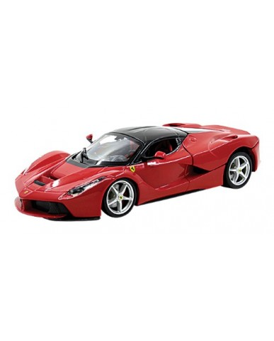 "8"" Die Cast Red Ferrari Laferrari"