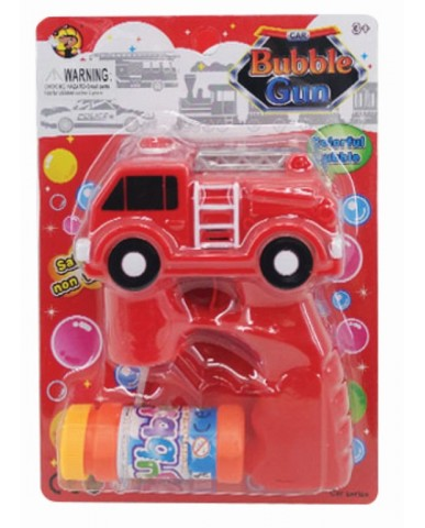 Fire Truck Bubble Gun