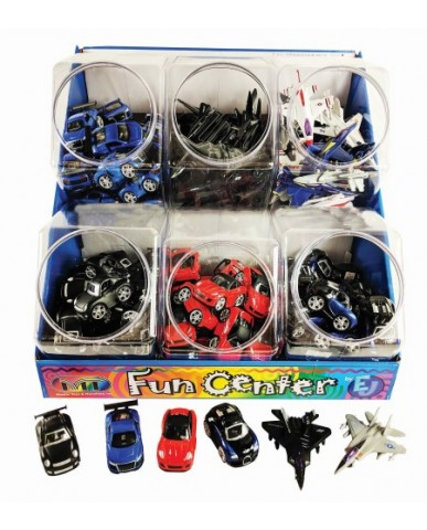 144 pc Mini Die Cast Sports Cars & Jets
