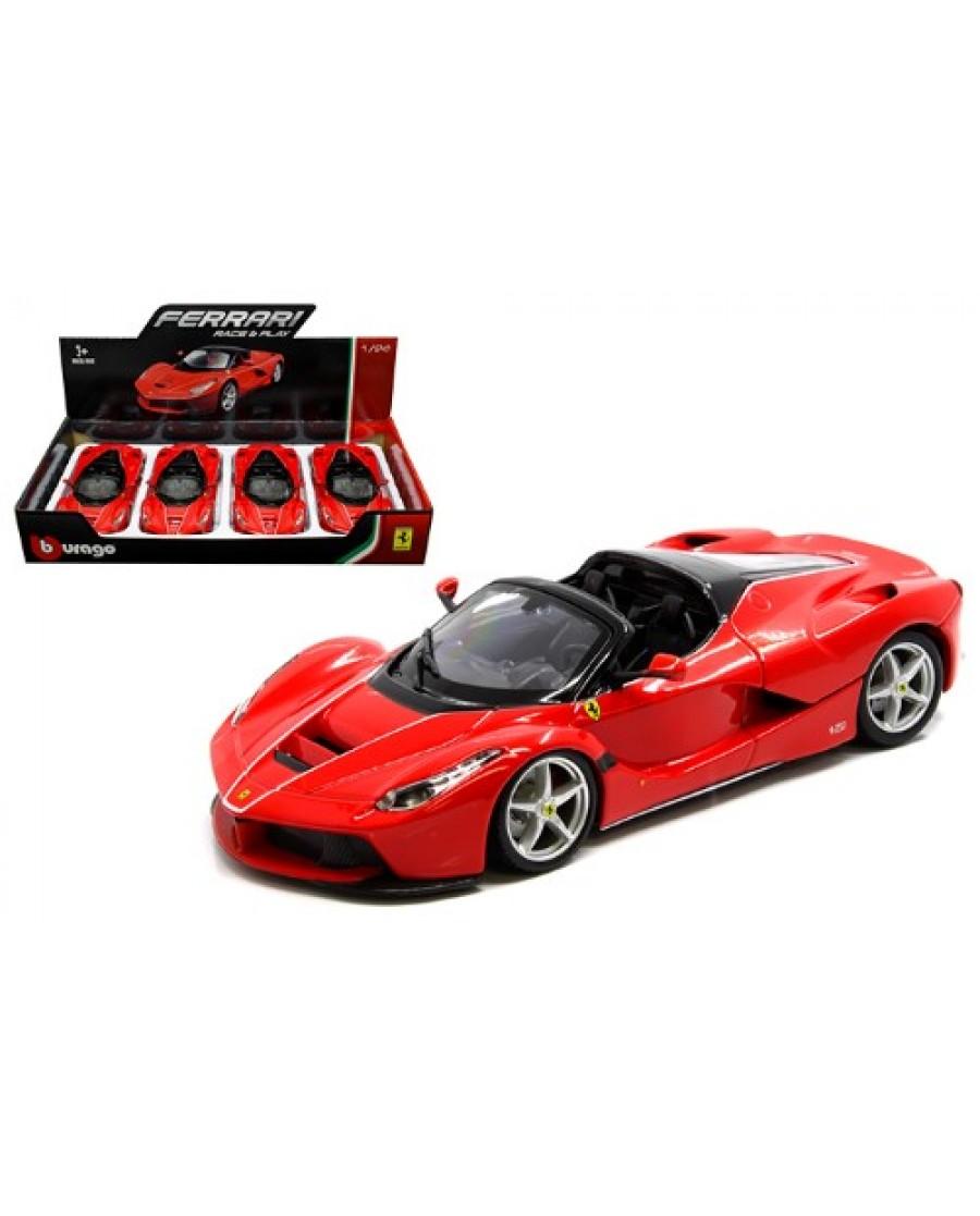"8"" Red Ferrari LaFerrari Apert"