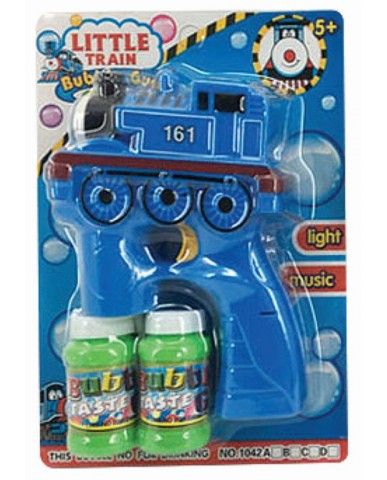Train Bubble Gun