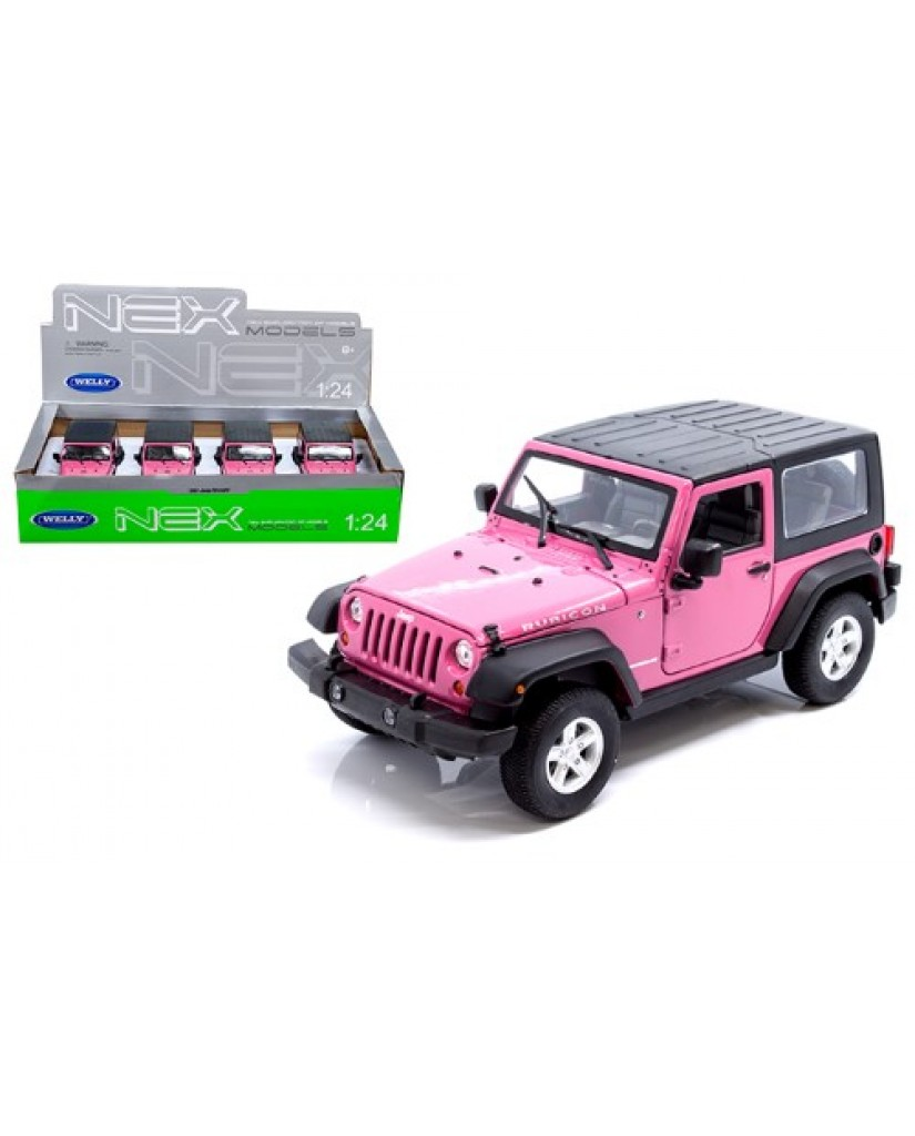 "7"" Pink Jeep Wrangler Rubicon"