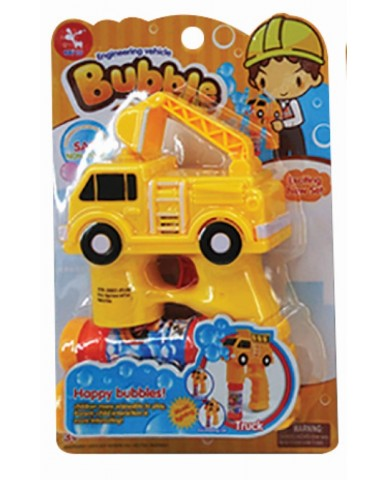 Construction Trucks Bubble Gun