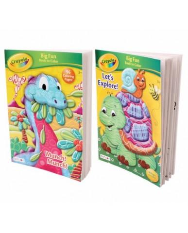 96-pg Crayola Coloring Book