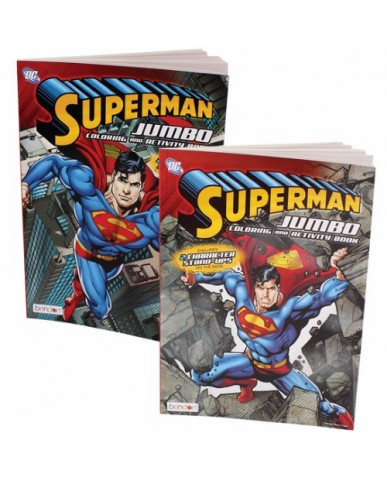 96-pg Superman Coloring Book