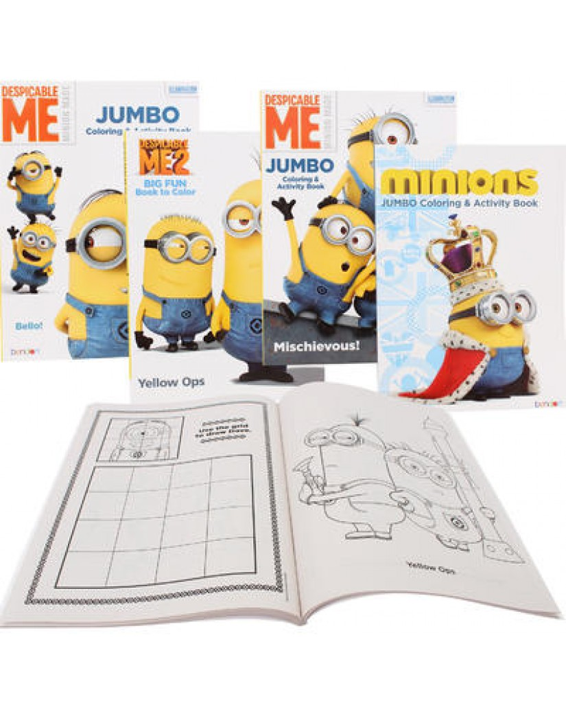 96-pg Minions Coloring Book
