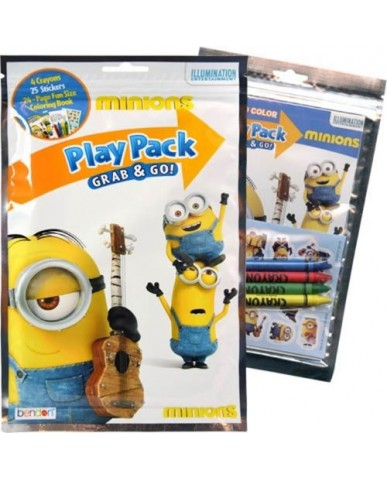 Minions Grab 'N Go Play Packs