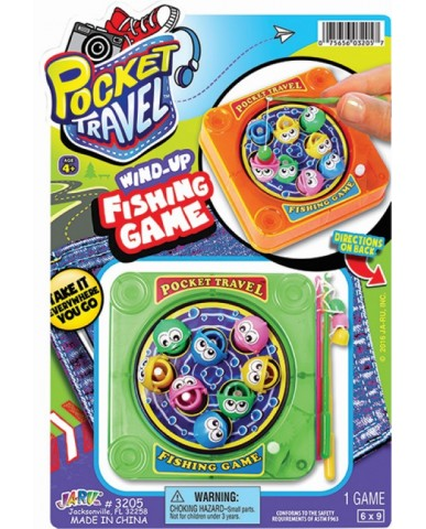 Wind Up Fishing Game