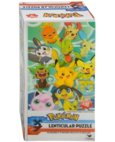 Pokemon 100-pc Lenticular 3D Puzzle