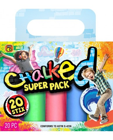 Chalked 20 Stix Super Pack