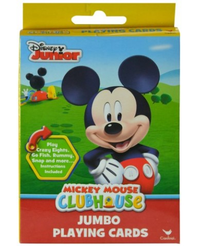 Mickey Mouse Jumbo Playing Cards