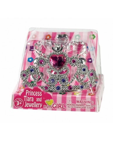 5-pc Prince Crown & Jewelry Set