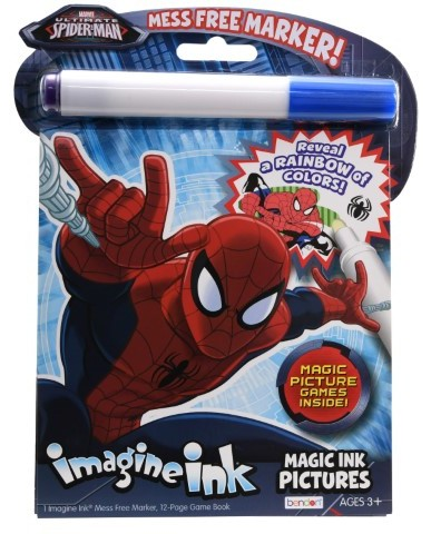 Spiderman Magic Ink Set