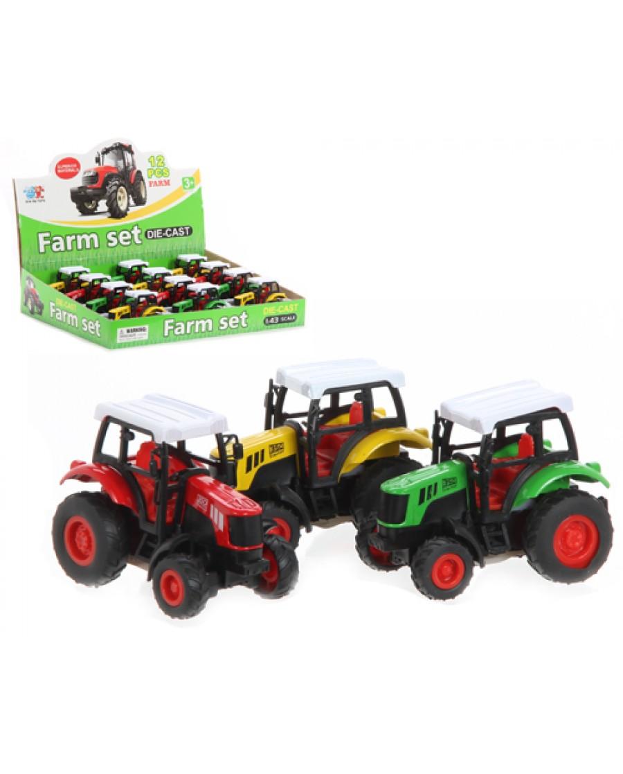 "4"" Die Cast Farm Truck"