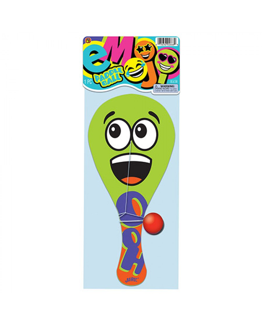 "10"" Emoji Paddleball"