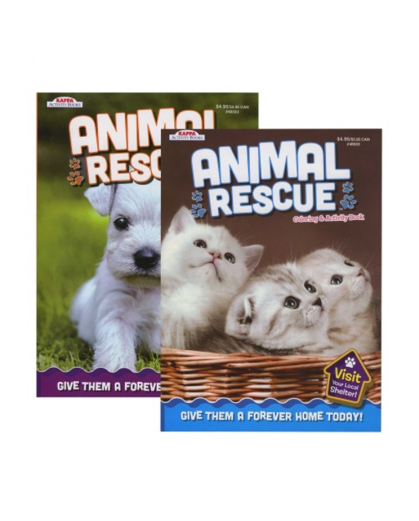 Animal Rescue Coloring Book
