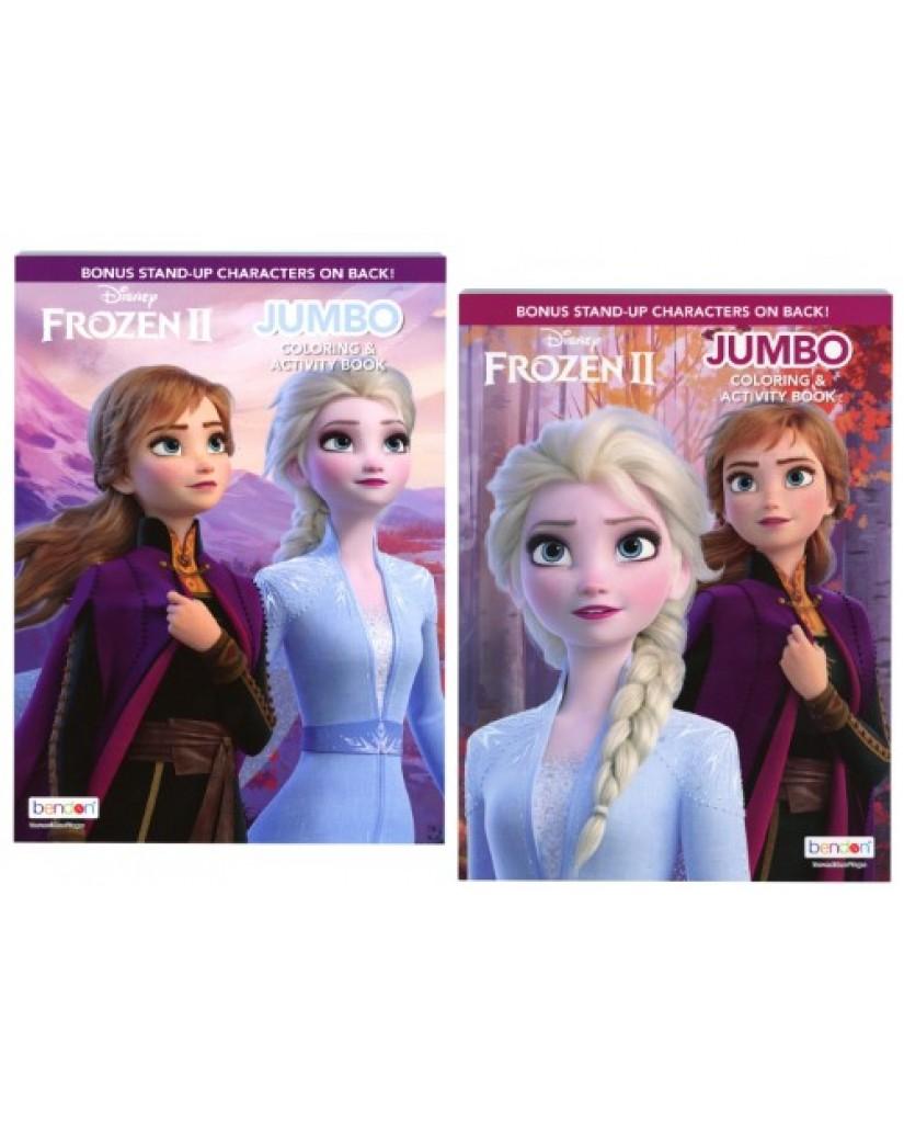 Frozen 2 Jumbo Coloring Book