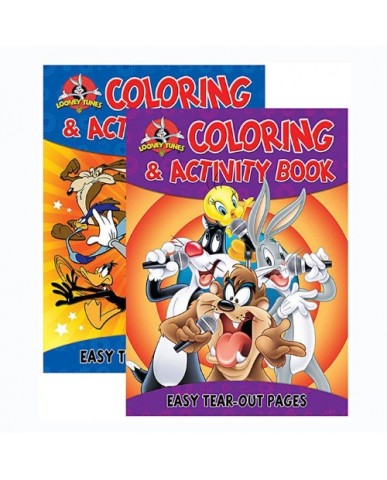 96-pg Looney Tunes Coloring Books