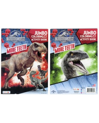 Jurassic World Jumbo Coloring Book