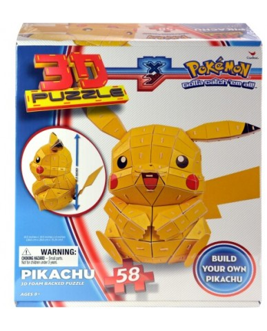 Pokemon Pikachu 58-pc 3D Puzzle
