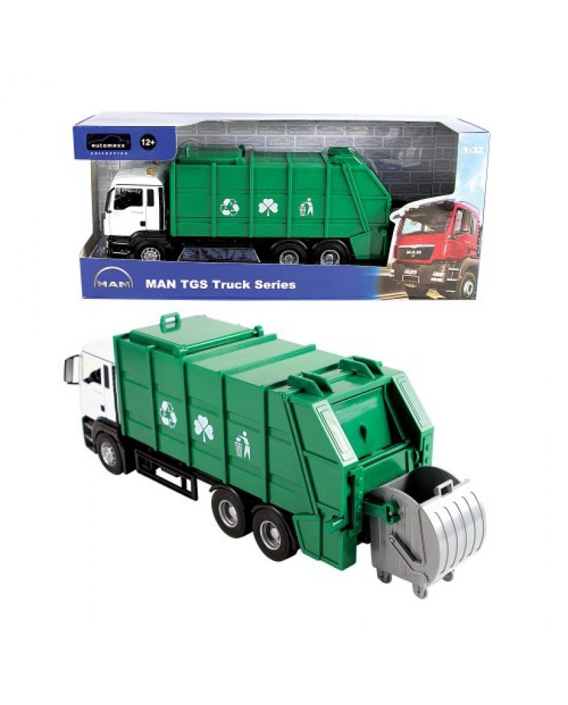 """12"""" Die Cast Garbage Truck"""