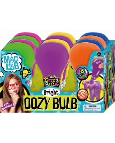 Giant Bright Oozy Bulb Slime