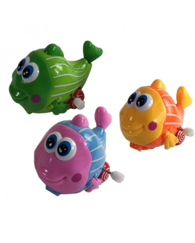 "4"" Big Eyed Fish Wind Up"