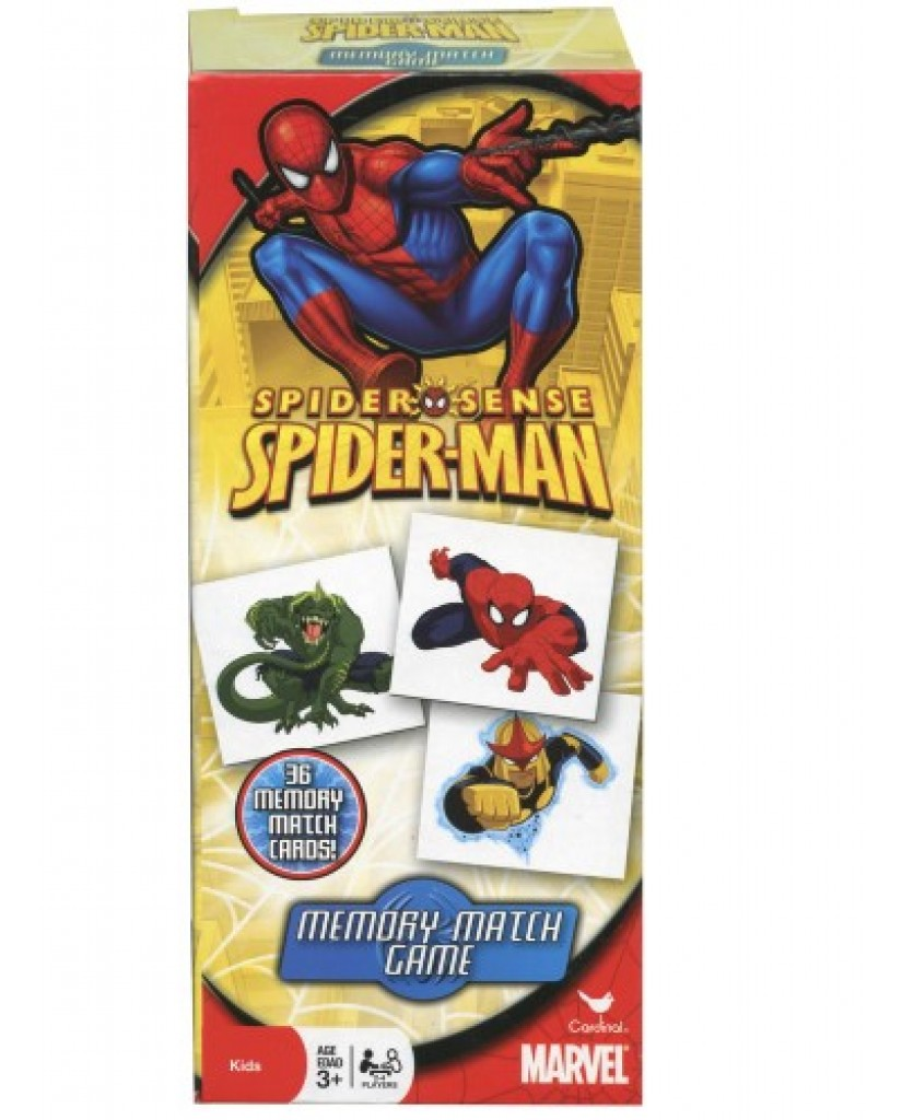 Spiderman Memory Match Game