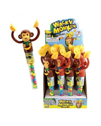Wacky Monkey Candy Tube