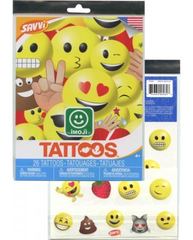 Emoji Tattoo Sheet